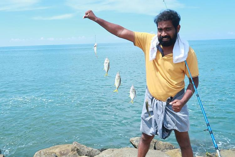 Meet Unni George the Kerala food vlogger bringing fishing and cooking together