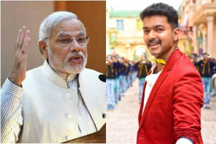 Vijay fans vs BJP Youth arrested for posting derogatory comments on Prime Minister Modi