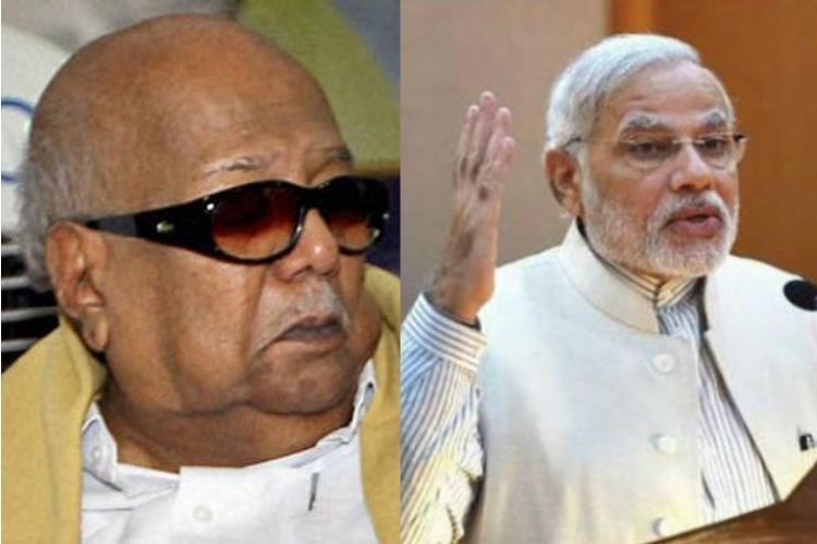 PM Modi to meet Karunanidhi during Chennai visit