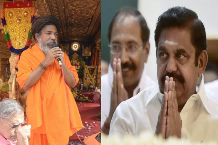 EPS bats for Rama Rajya Rath Yatra in TN says it passed through 5 states peacefully