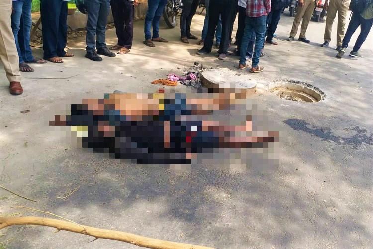 Two workers asphyxiate in manhole near Hyderabads Uppal cricket stadium