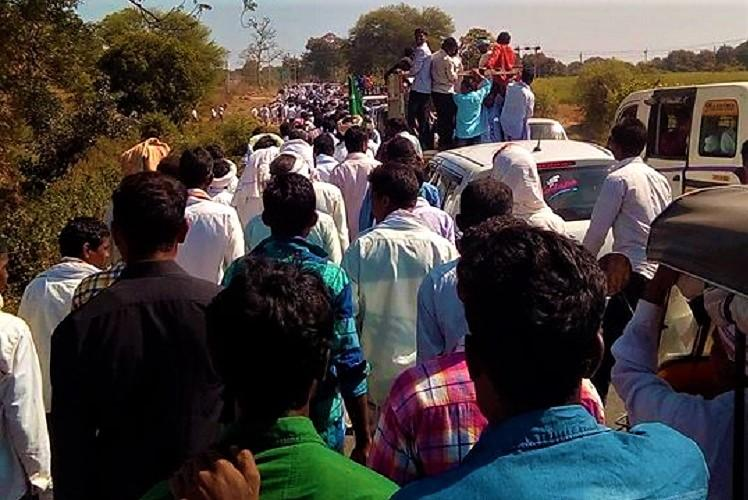 Thousands of adivasis march in Telangana demand Lambadas be removed from ST list