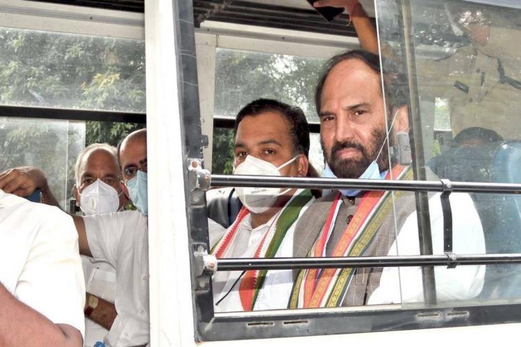 Uttam Kumar Reddy resigns as congress chief for Telangana