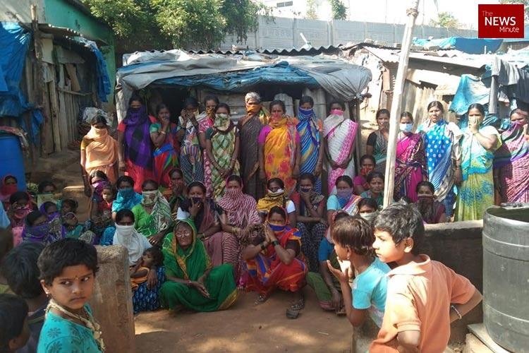 No income food or ration Life of slum residents brought to a standstill