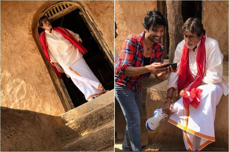 Amitabh Bachchans look in Uyarntha Manithan revealed