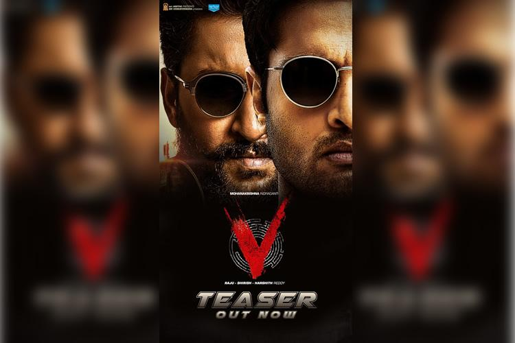 Watch Nani-Sudheer Babus V teaser promises a thrilling action film