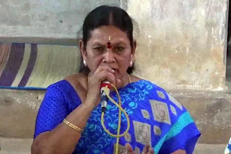 District officer accused me of corruption to cover up charges against her TN Minister Saroja