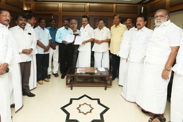 DMK-VCK alliance sealed Will Thirumavalavan agree to contest on rising sun symbol