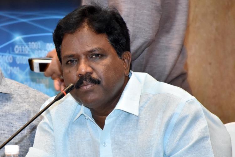 VCK MP Ravikumar