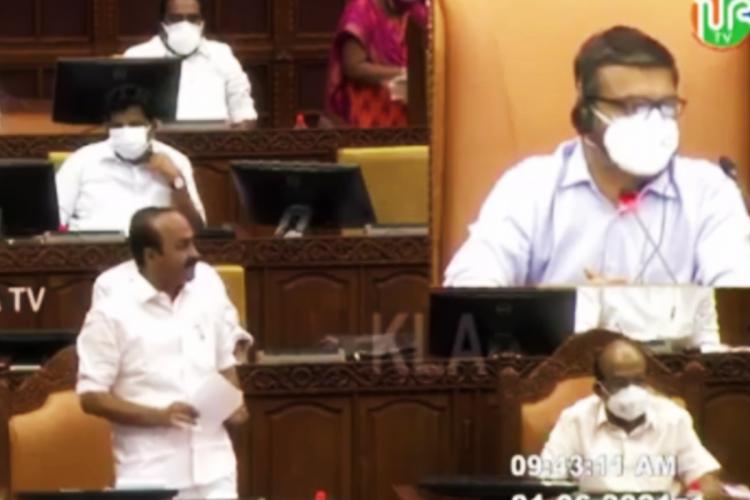 Opposition Leader VD Satheesan