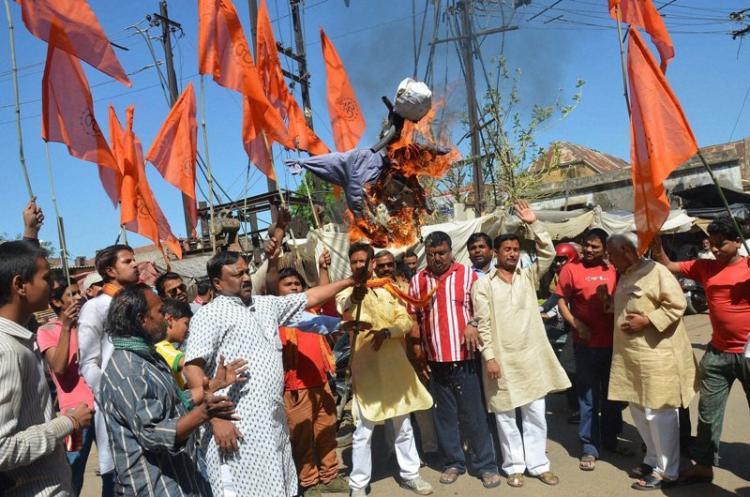 AIMIM MLA suspended for not saying Bharat mata ki jai says he didnt insult country