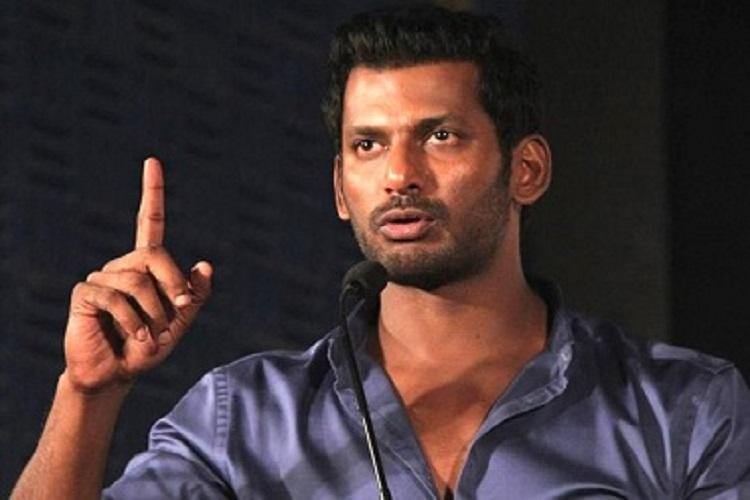 Vishal announces panel to look into Me Too allegations in Kollywood