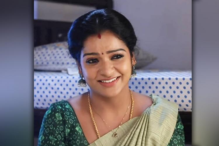VJ Chithra as Mullai in Star Vijays daily soap Pandian stores
