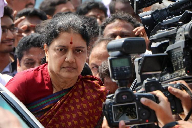 Sasikala applies for remission of sentence based on good conduct Sources