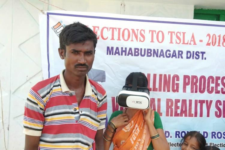 Unsure how to use EVMs Telangana has a Virtual Reality experience for voters