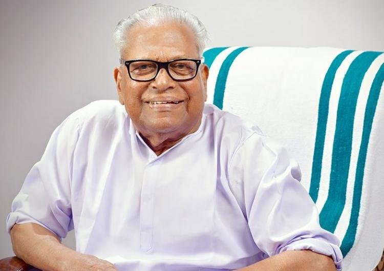 Malayalam movie starring veteran Communist leader VS Achuthanandan hit screens on Friday