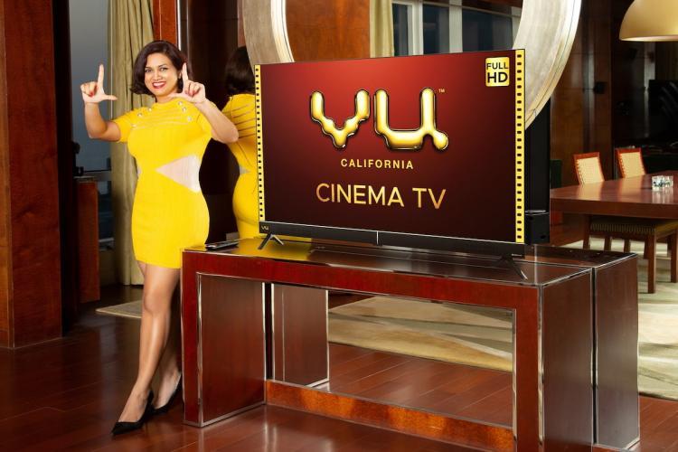 Vu launches Vu Cinema Smart TV with high brightness panel voice remote