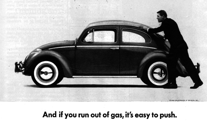 Volkswagen crisis brand that invented modern advertising is dented