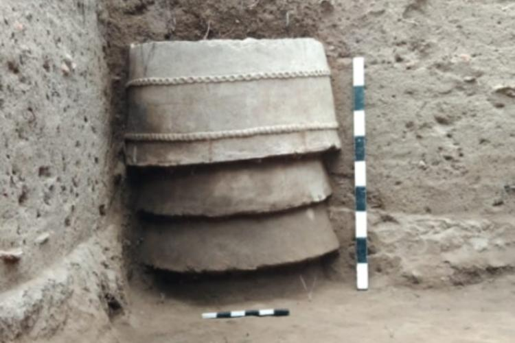 Ring wells with thumb impression unearthed at TN's Keezhadi archaeological site