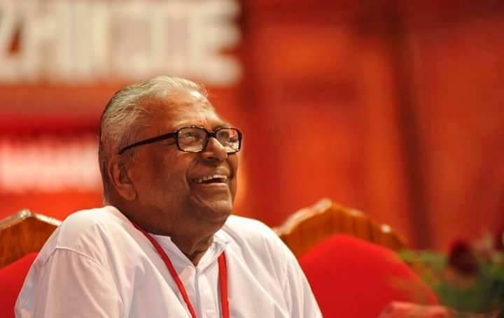 Now nonagenarian Kerala politician VS Achuthanandan takes to online campaigning