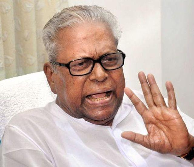 Achuthanandan declares bank deposit of Rs 102 lakh files nomination from Malampuzha