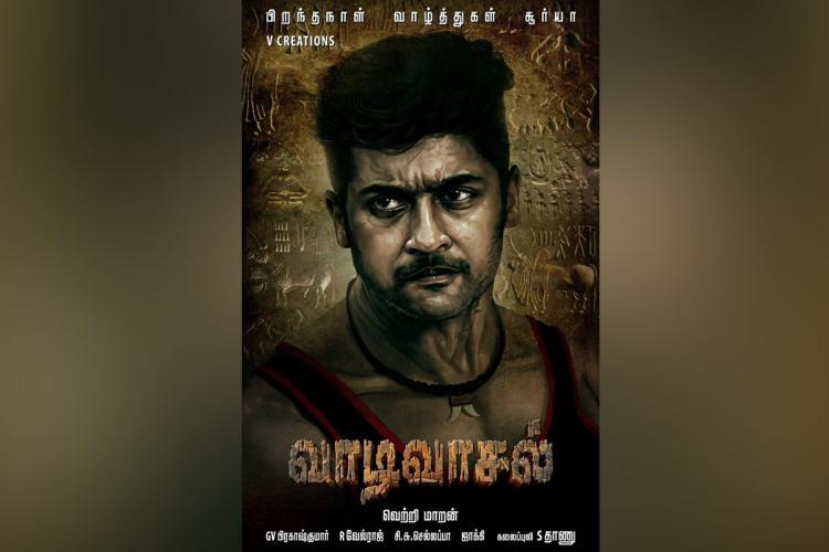Suriyas first-look from director Vetrimaarans Vaadi Vaasal out
