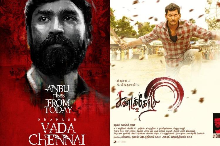 Sandakozhi 2', 'Vada Chennai' allegedly leaked by
