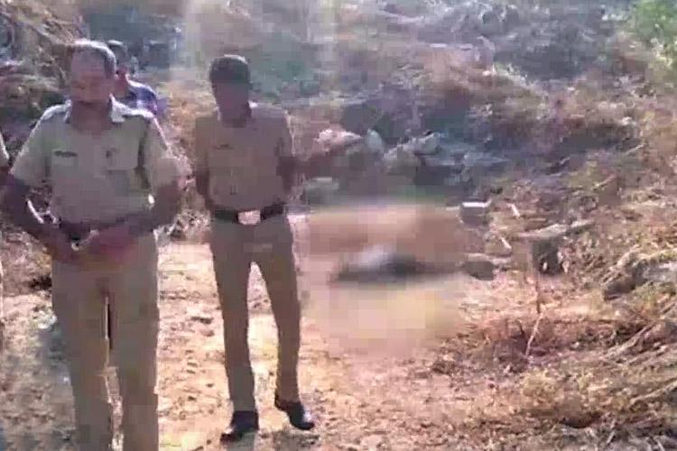 Burnt body of woman found in secluded field near highway in Kerala