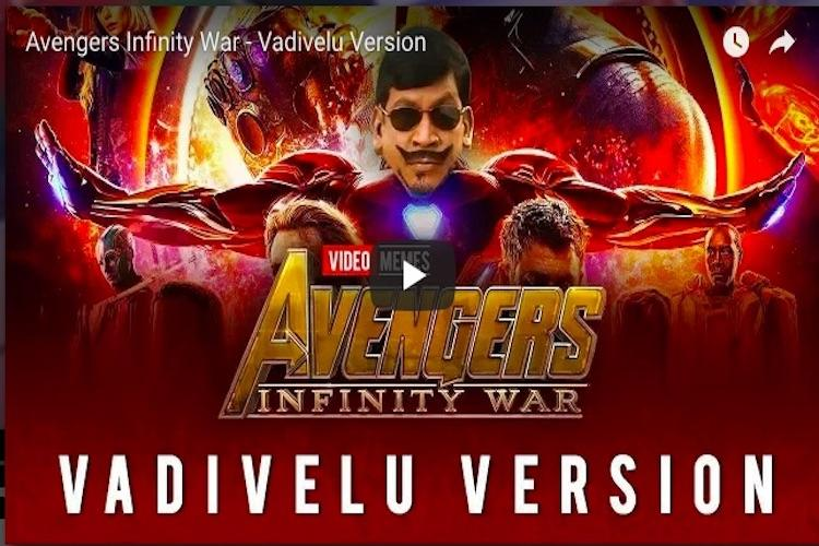 Watch What if Tamil comedian Vadivelu was an Avenger