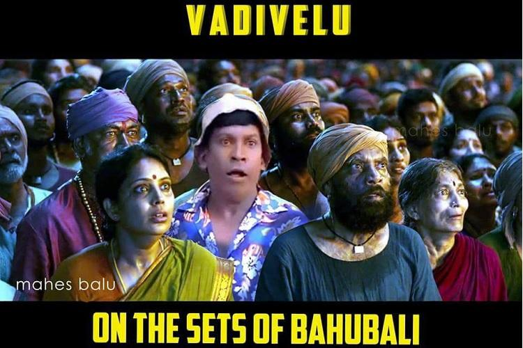 Miss watching Vadivelu in films You can see him in Baahubali and Premam thanks to Photoshop