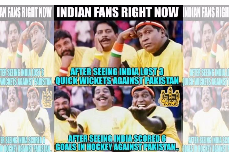 India loses against Pakistan in cricket meme makers win the day