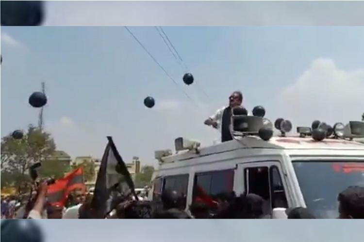 PM Modi in Kanyakumari MDMK Chief Vaiko protests with black flags detained