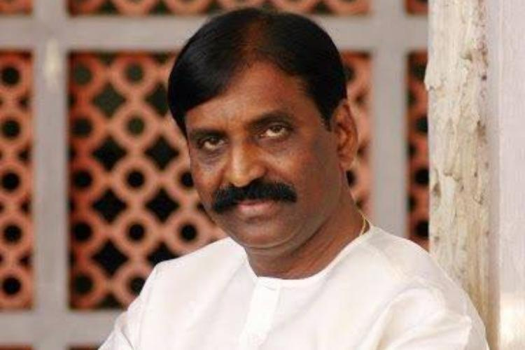 Tamil poet and lyricist Vairamuthu who has been accused of sexual misconduct by multiple women including singer Chinmayi during the Me Too movement