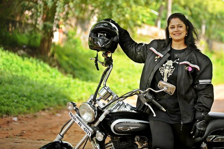 Vizags first woman biker gears up for a heritage ride from Chennai to Kolkata
