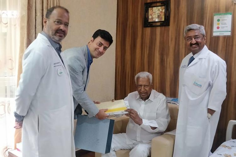 Karnataka Governor Vajubhai Valas health stable discharged after heart surgery