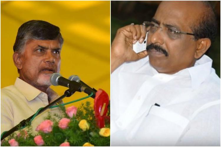 Andhra CM Naidu suspends TDP MLC after CBI accuses him of bank fraud