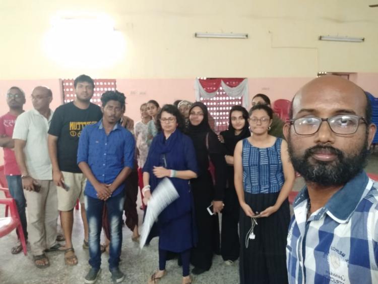17 Anti-CAA protesters detained at Valluvar Kottam in Chennai