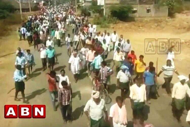 Years of injustice made 29 villages in Andhra turn into a rampaging mob