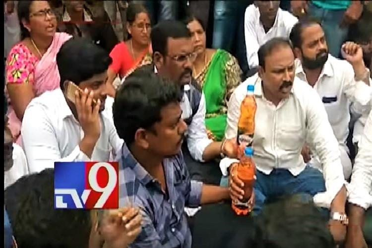 Tension in Vijayawada after Vangaveeti Radhas followers protest denial of YSRCP ticket