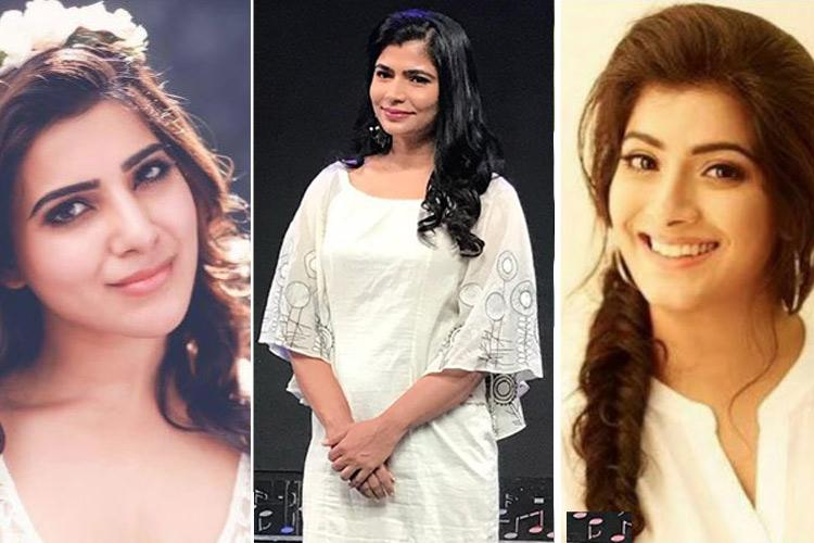 After Chinmayi tweets on Vairamuthu Samantha and Varalaxmi stand up for Me Too