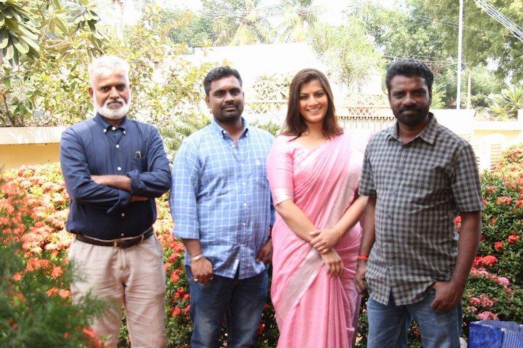 Varalaxmi Sarathkumar confirms Danny with director Santhana Moorthy