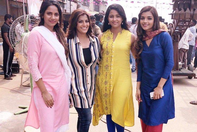 Varalaxmi Sarathkumar begins shooting for new film titled Kannitheevu
