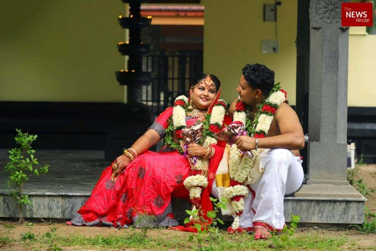 A couple based on Varanasi got married in Malappuram due to lockdown