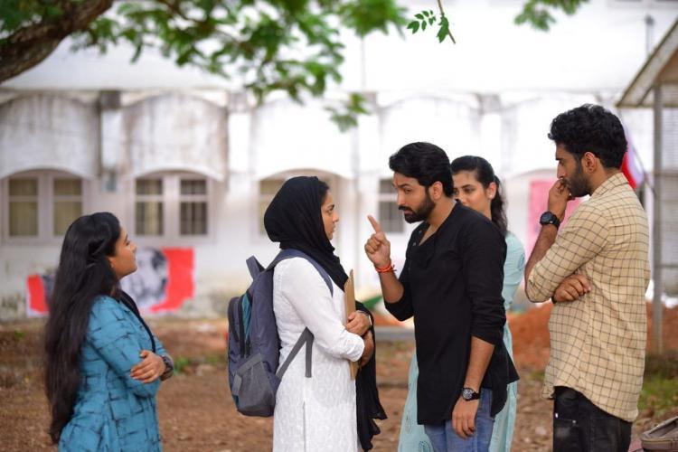 Still from movie 'Varthamanam'
