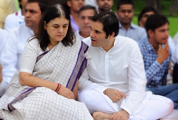 In 1978 Maneka Gandhi leaked Indias first political sex scandal now son Varun faces same charge