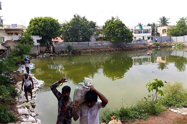 They only come for votes Hyd colony laments about apathy after rains leave them helpless
