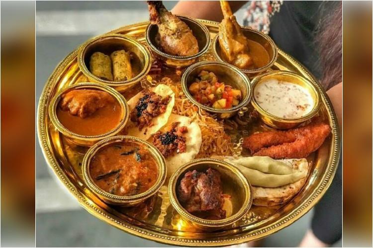 Delhi restaurant creates mega-meat thali for Navaratri names it Raavana Thali
