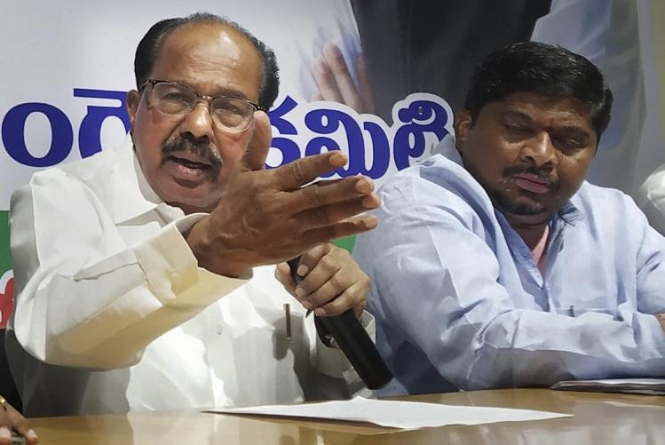 Moily blames Congress tie-up with JDS for Lok Sabha rout