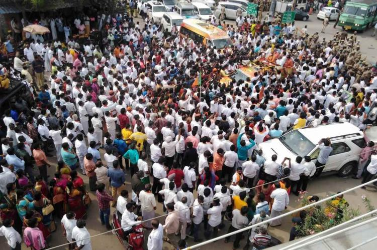 TN BJP files plea in Madras HC seeking permission to conduct Vel Yatra