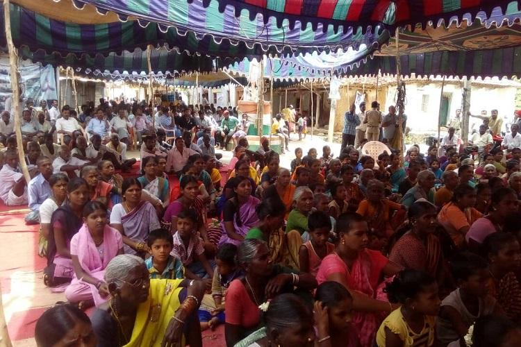 Telanganas Vemulaghat village has been on a non-violent protest for one year heres why